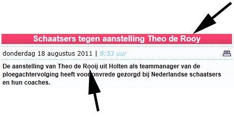 Theo de Rooij