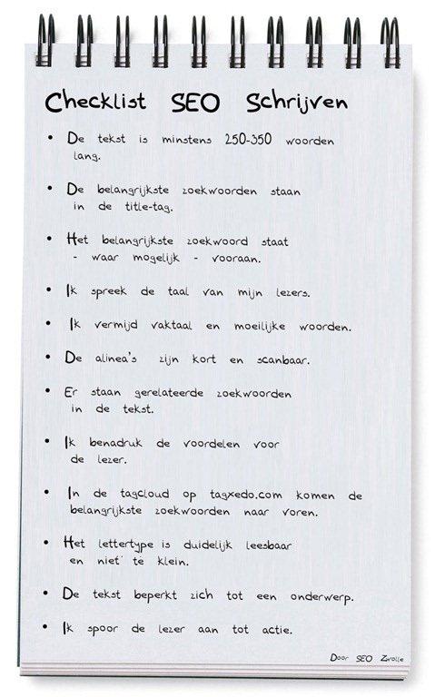 checklist-seo-schrijven