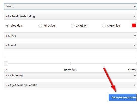 Tip hoe vind je grote afbeeldingen in google images seo zwolle - Geavanceerd zoeken ...