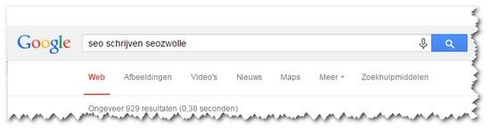 Seo-schrijven-google