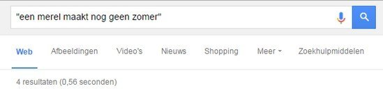Schrijftip voor je weblog: gebruik Google Search
