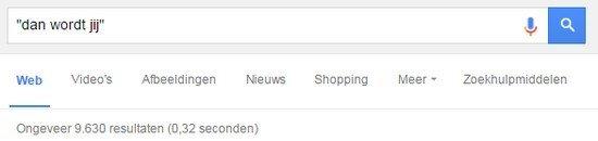 Google gebruiken voor schrijven