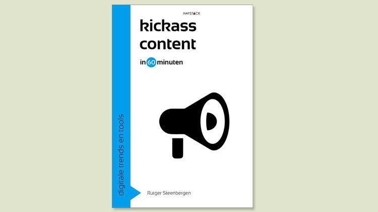 Boek Kickass content in 60 minuten