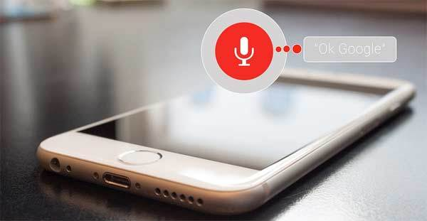 Smartphone en Voice Search