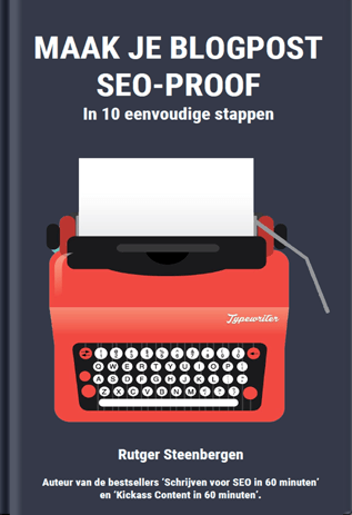 Blogpost SEO-proof ebook